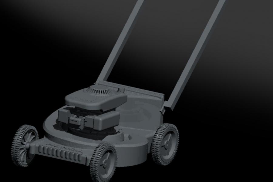 mower rendered